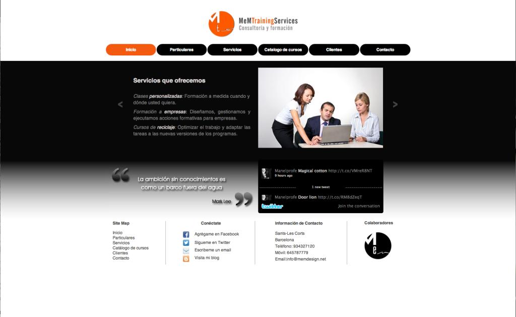 captura web MTS